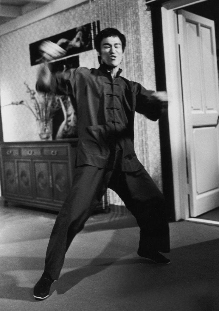 Bruce Lee in action!