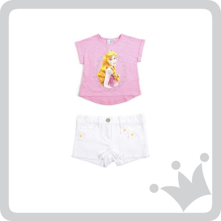 Nuestro recomendado del día para las niñas es un look de #Disney by EPK y la protagonista es la princesa Aurora.