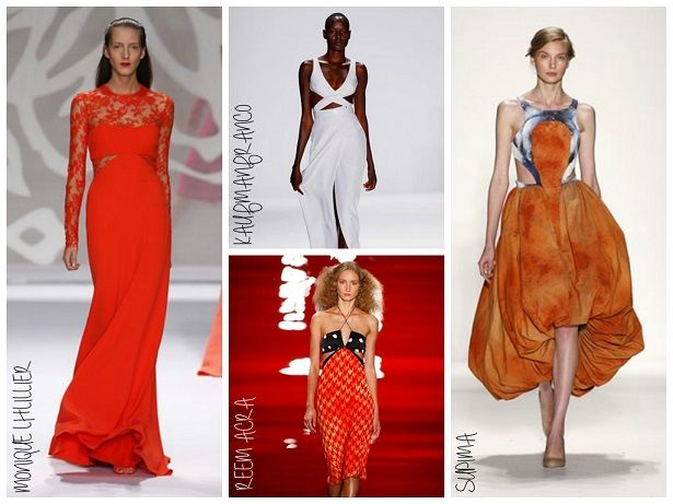 NYFW Spring 2014 Trend Alert: Triangle Side Bodice Cut Outs