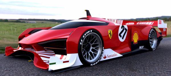 Ferrari - Le Mans Concept..                              …