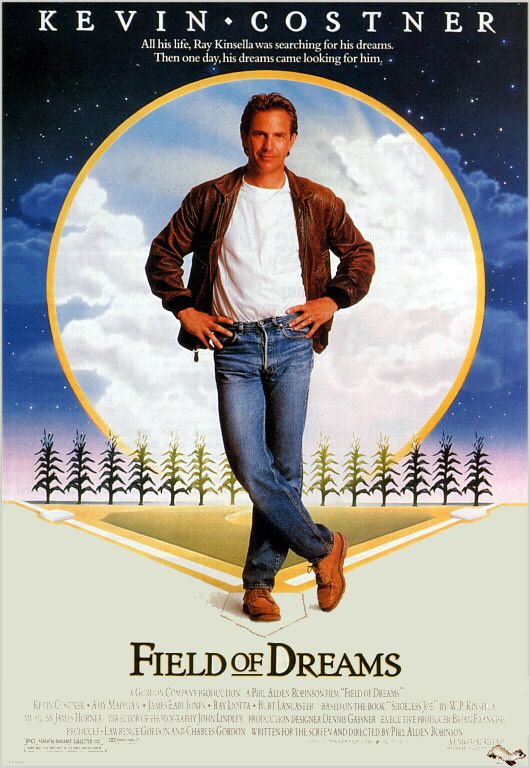 Field of Dreams.  I loved this movie because I love the history of baseball.  James Earl Jones was tremendous at the end.