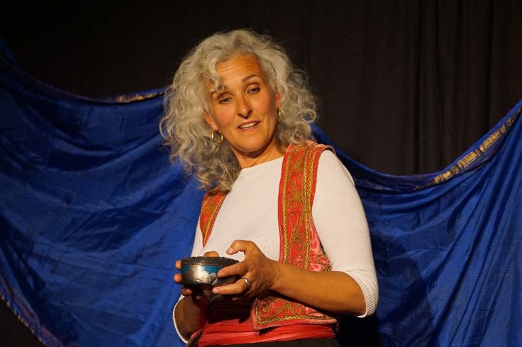 """Soirée contes du 07-08-2015 au Catelier menée par Claire Garrigue dans """"Quand je partais avec Sinbad"""" ©G.Durand"""