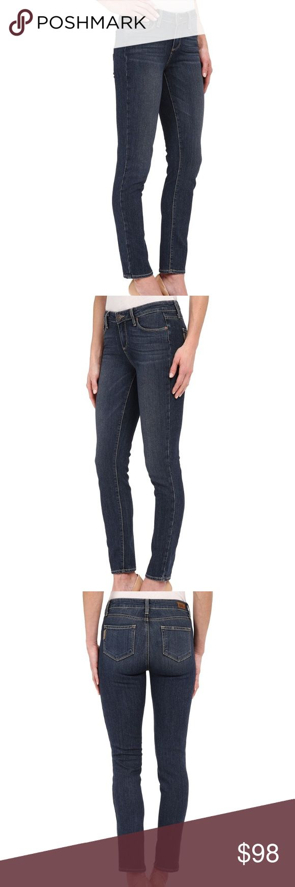 Paige Skyline Ankle Peg Midrise Skinny Atticus I'm in love with these, and I wore them for less than 5 hours. 😭 Make my butt look great, but also cut into my hip bones. Can't win 'em all. My loss, your gain. Color is Atticus. Adding my photos soon. Paige Jeans Jeans Skinny