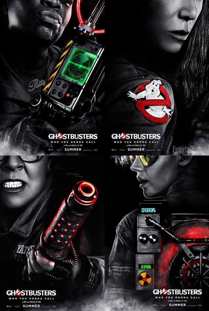Ghostbusters (July 2016) Movie Poster