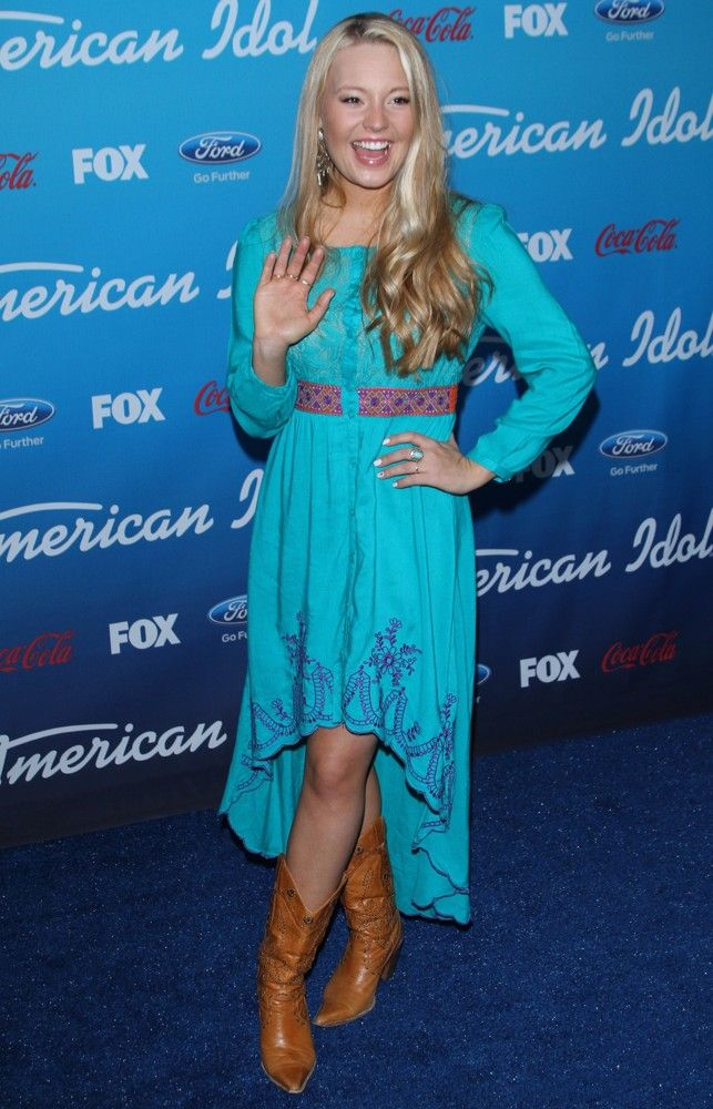 FOX's American Idol Finalists Party - Janelle Arthur in Flying Tomato