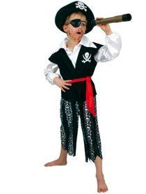 Hochwertige Piraten-Kostüme mit Accessoires.