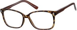 Order online, unisex tortoiseshell full rim acetate/plastic square eyeglass frames model #126225. Visit Zenni Optical today to browse our collection of glasses and sunglasses.