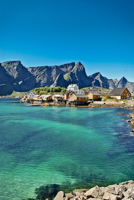 Norway and Finland are on the list of 'maybe' destinations for summer hols! >>> Sakrisøy, Norway