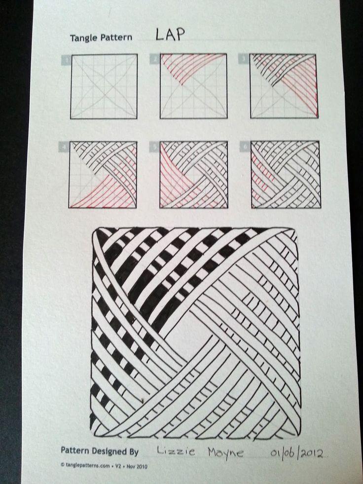 "Judy's Zentangle Creations: Zentangle Patterns ""LAP"""