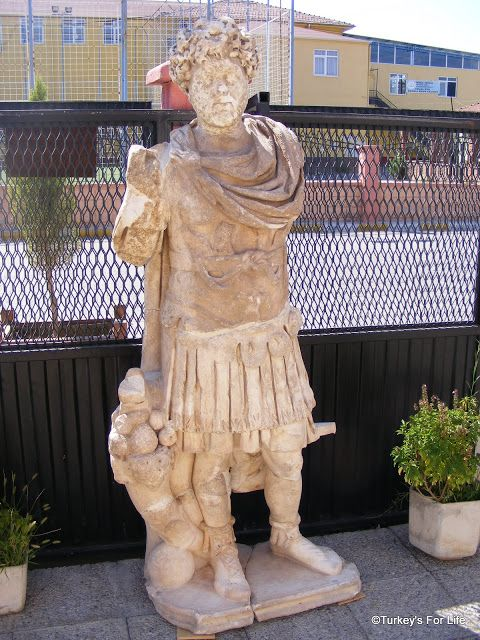 Roman Statue From Tlos At Fethiye Museum