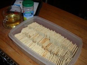 Guest Post Series Part 2: Tribulations & Hesitations in the Kitchen – Spicy Saltine Crackers by Meta West   Chattering Kitchen