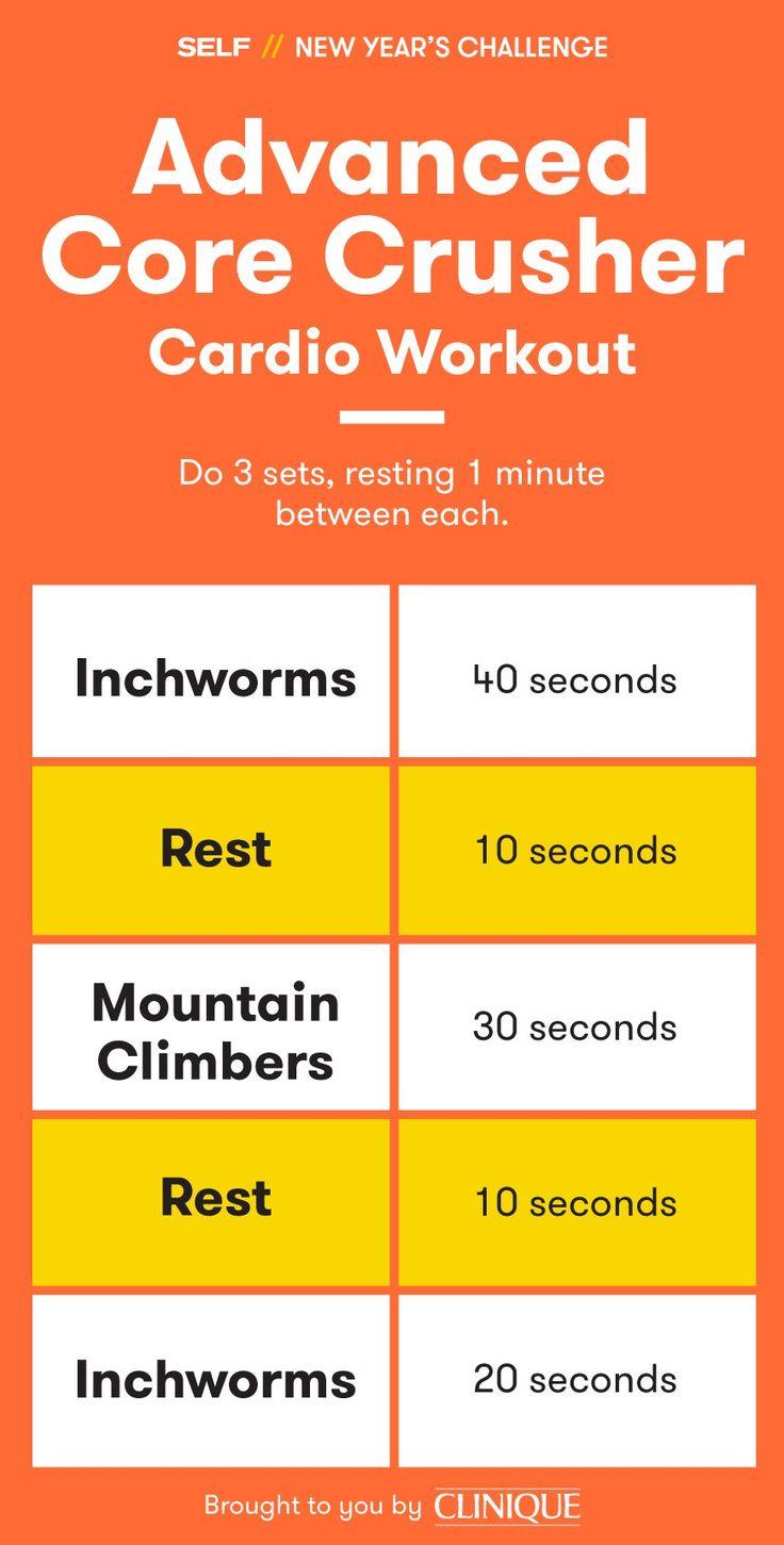 Core Crusher Cardio Workout