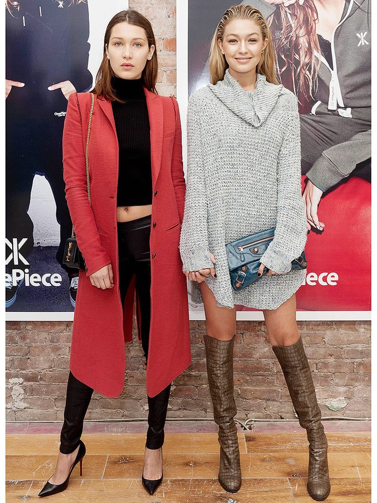 Bella e Gigi Hadid, as irmãs mais badaladas do mundo da moda - fashion model - street style