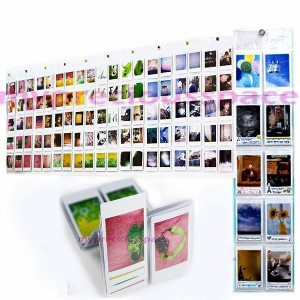 Wall Album for Fujifilm Fuji Instax Mini 90 8 7s 25 Polaroid Camera Photo Film