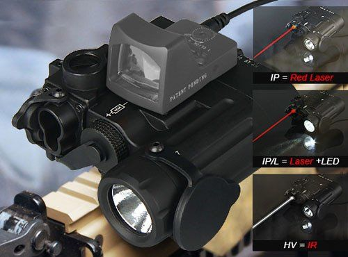 B-Tac DBAI IR Laser & Led Torch (Infrared Laser / Night Vision) – Cold Dead Hands