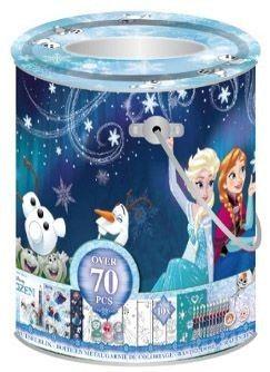 Met dit kleine knutselblik van de Disney film Frozen kun je allerlei dingen knutselen.  Afmeting: 230x110x110 mm - Knutselblik Frozen: small