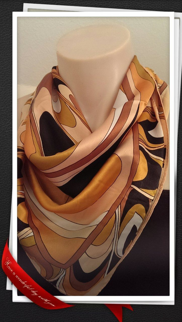 Popsie Ltd - Bandana - Carmel Silk, $13.81 (http://www.popsie.co.nz/bandana-carmel-silk/)