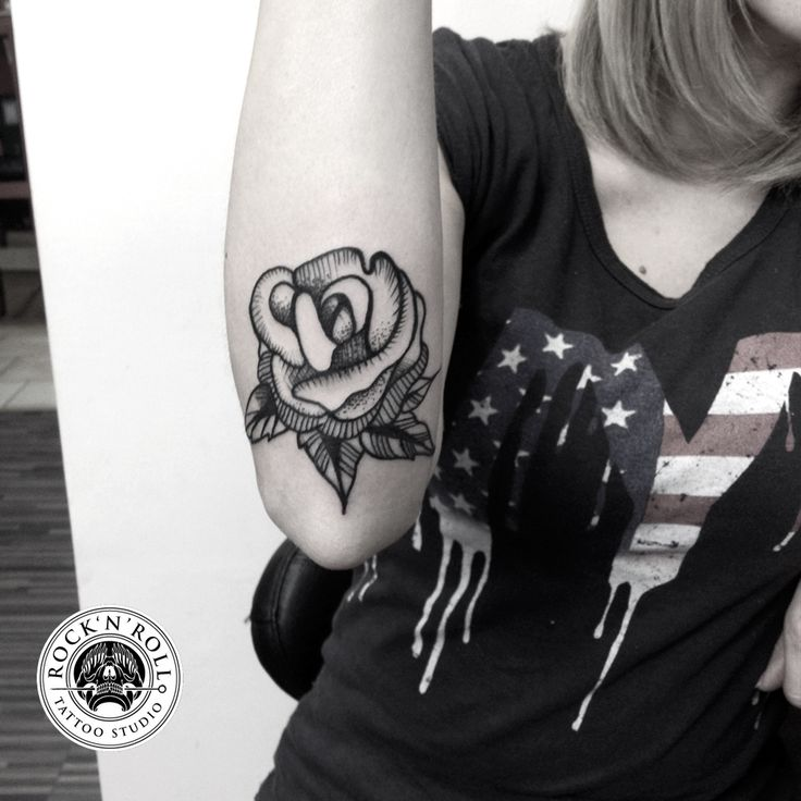 Rose tattoo by me