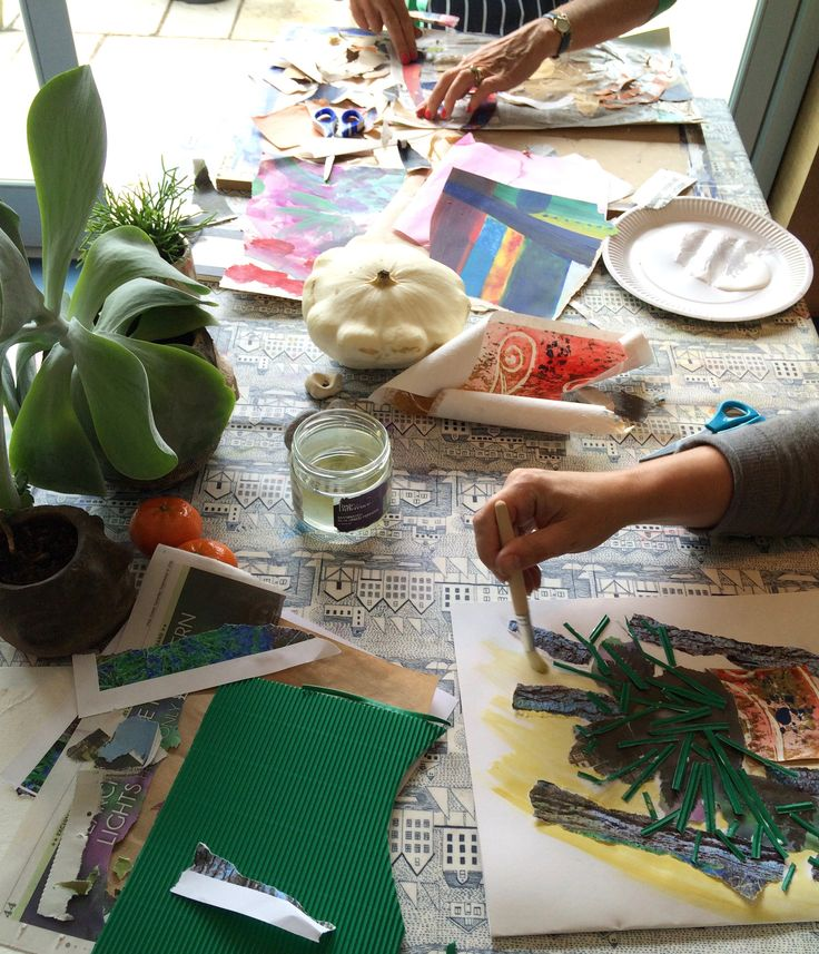 Creating collage from Still Life at Canvaspace