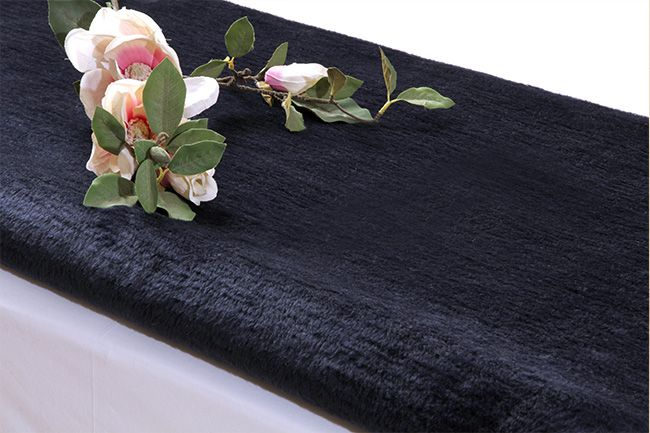 Navy Hotel Blanket