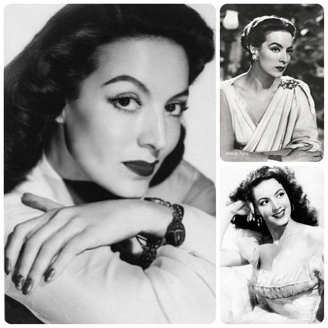 "My #wcw is María Felix alias ""La Doña""... she is one of my biggest inspirations. Gorgeous and badass #cherryup #mariafelix #ladoña #vintage #1950 #1940 #mexicanactress"
