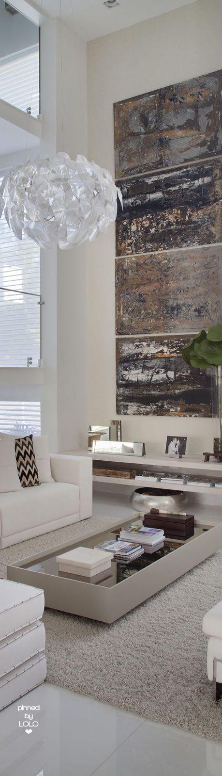 Casa com pé direito duplo moderna - veja dicas de decoração e conheça todos os…