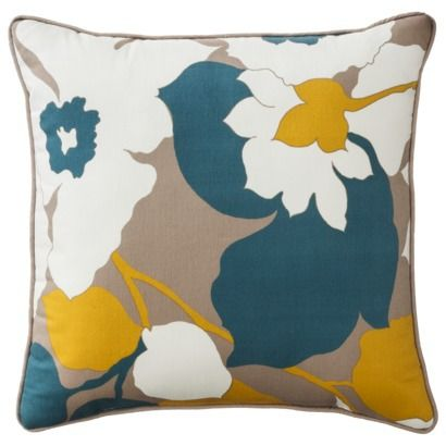 room essentials bold floral toss pillow multi no zipper canu0027t clean find this pin and more on decorative pillows