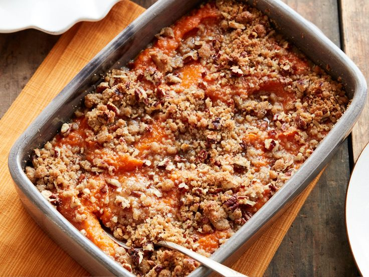 Get this all-star, easy-to-follow Sweet Potato Casserole recipe from Food Network Kitchen