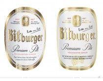 Bitburger Premium Pils neues Design Etikett