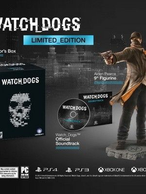 Watch Dogs Limited Edition, Must Have for all Advent Collector's