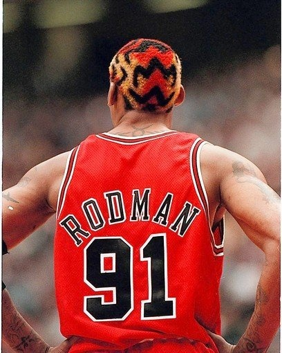 Dennis Rodman-Chicago Bulls #91