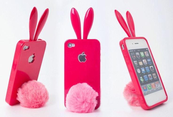 Pokrowiec królik z podstawką  #pokrowiec #iphone #sprzedam #4 #4s #królik