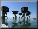 Inspiring photos of Alien-looking WW2 Maunsell forts off the North Kent coast.