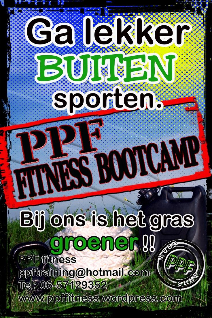 Fitness bootcamp, wijk bij duurstede, ga lekker buiten sporten, PPF fitness,voor meer info contact   http://ppffitness.wordpress.com/  http://www.mijnwebwinkel.nl/winkel/ppffitness/  poster design by http://www.lyndajaynedesigns.nl/