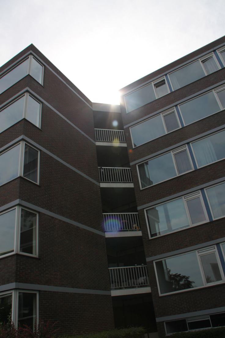 zon over flat @HetLageLand Rotterdam,The Netherlands