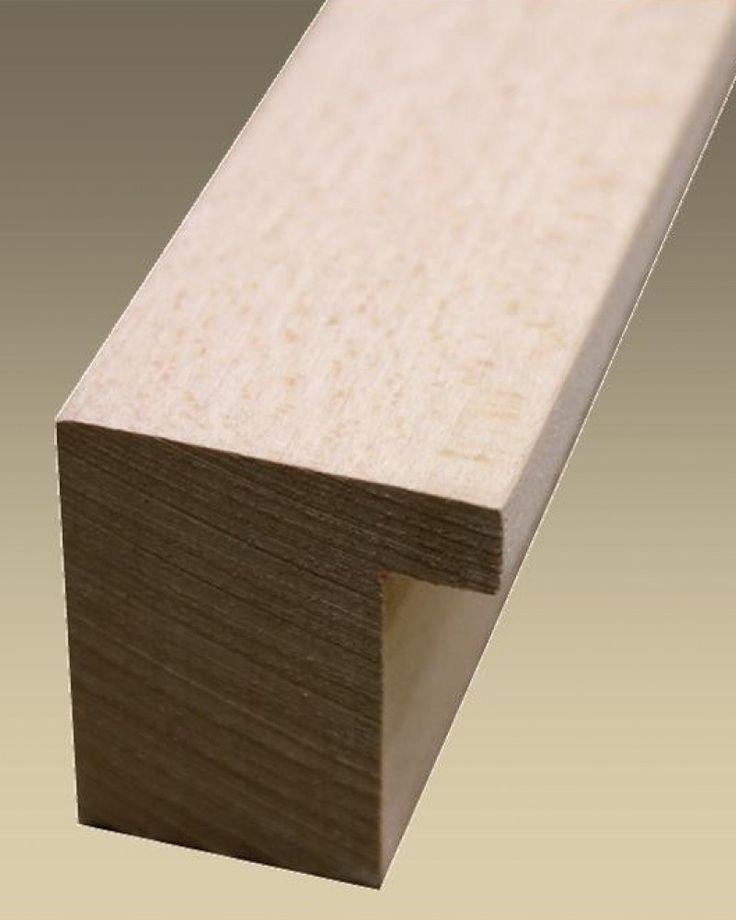 Aste grezze per cornici - 20--/ - Asta in legno massello naturale , levigata…