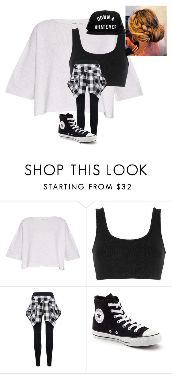 Hip Hop costume for me!!!!! by tamarabeautyx ❤ liked on Polyvore featuring Helmut Lang, adidas Originals and Converse ,Adidas Shoes Online,#adidas #shoes