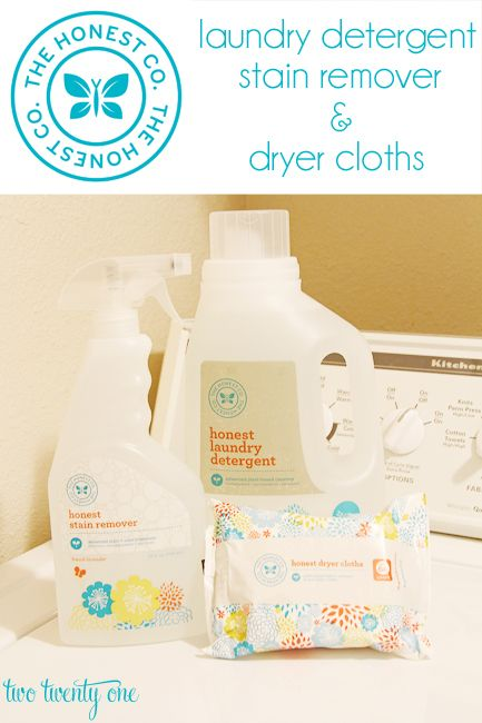 Have you made the switch to The Honest Company products with your laundry? The Honest Company offers detergent, stain removers, dryer cloths and more, for all of your laundry needs. Try going green with their products! #NaturallyHonest #PMedia