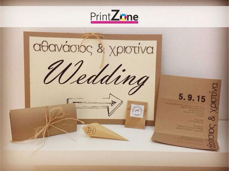 Wedding invitation and printable details