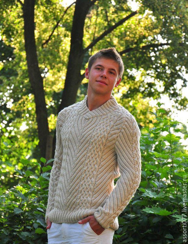 """Купить Мужской свитер """"Golf Club"""" в интернет магазине на Ярмарке Мастеров"""
