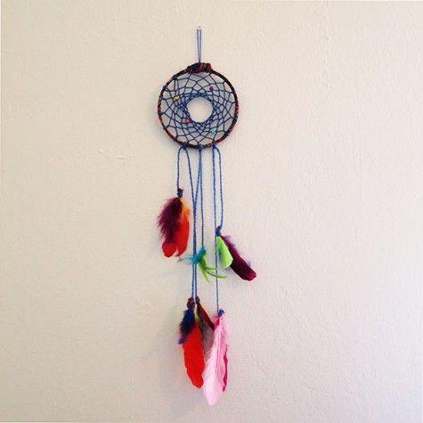 Colorful Dreamcatcher DIY