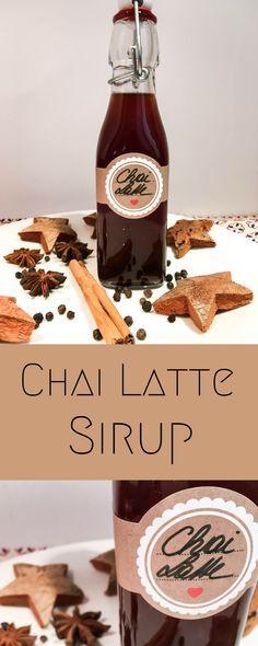 Chai Latte Sirup   – Kochrezepte