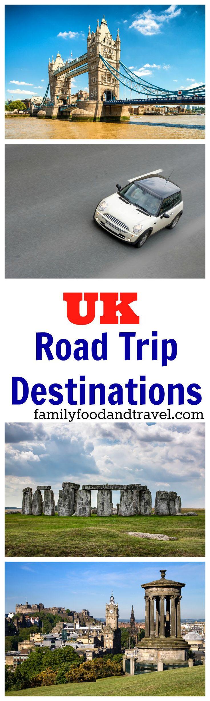 Best UK Road Trip Destinations