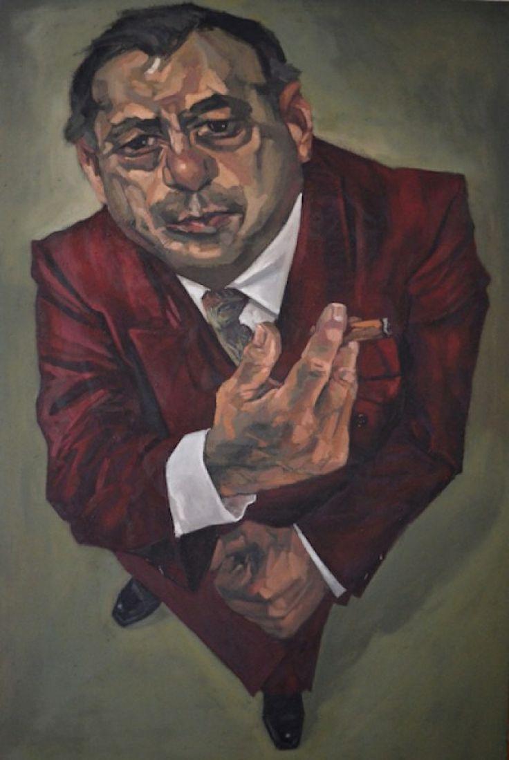 Impavido, oil on canvas, 2012, cm 195x130