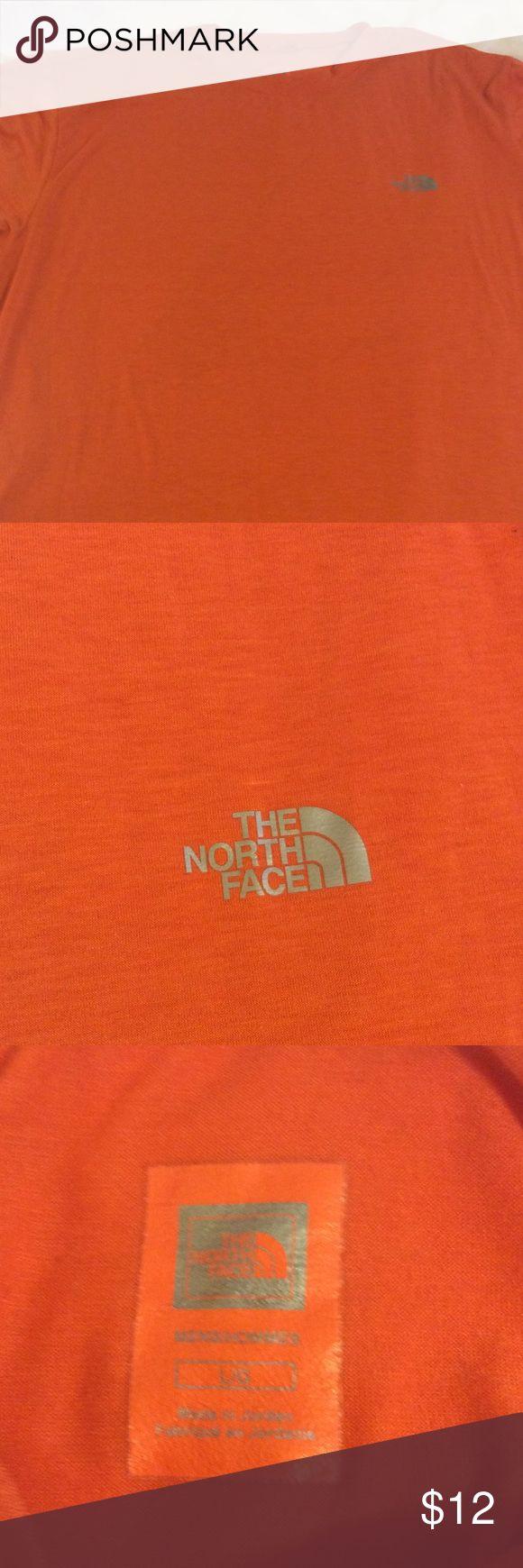 Men's Northface orange tee Nice men's North Face orange tee The North Face Shirts Tees - Short Sleeve