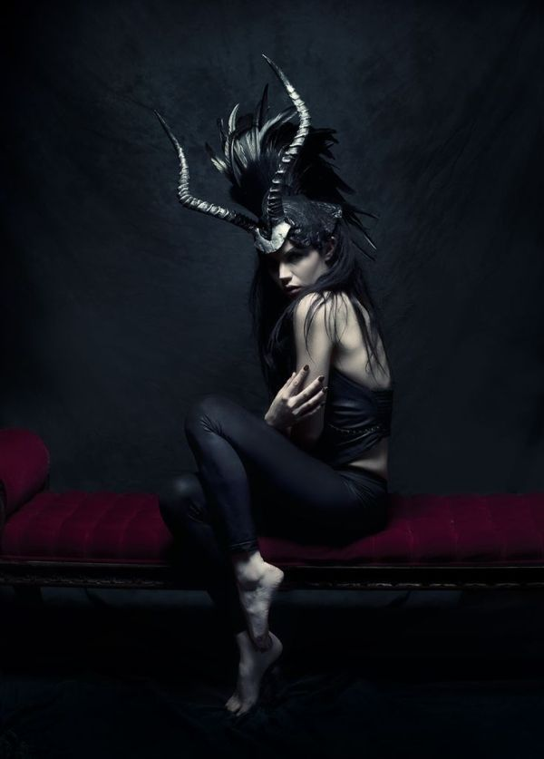 Miss G Designs - Photographer unknown -  Fashion Photography - Greek Mythology - Minotaur Concept ideas by faithnlove7