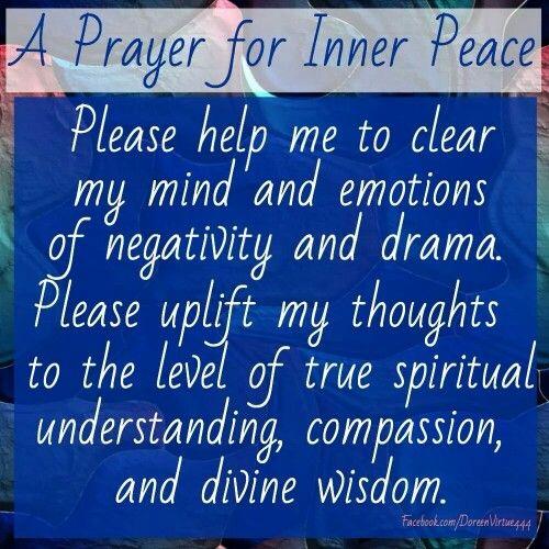 Inner peace                                                                                                                                                      More