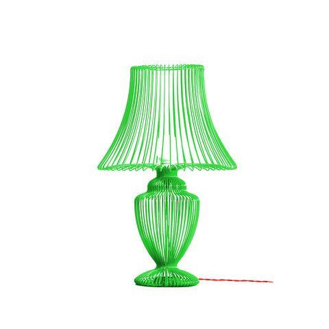 Deadgood, Wire Lamp - Green