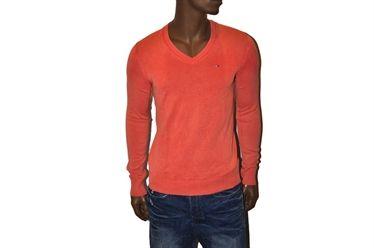 Maglione TAMSON VN V 218 knit rosso aragosta