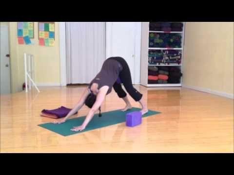 ▶ Prenatal Yoga: Stabilize the Sacrum with Deb at Prenatal Yoga Center - YouTube